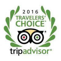 TripAdvisor Travelers' choice 2016