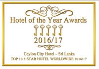 HOTEL OF THE YEAR AWARDS- TOP 10 3 STAR HOTELS WORLDWIDE 2016/17